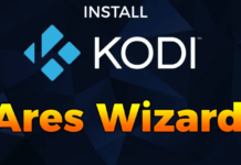 Install Kodi 17.1 Ares Wizard