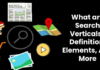 Definitions What are Search Verticals? – Definition, Elements, And More